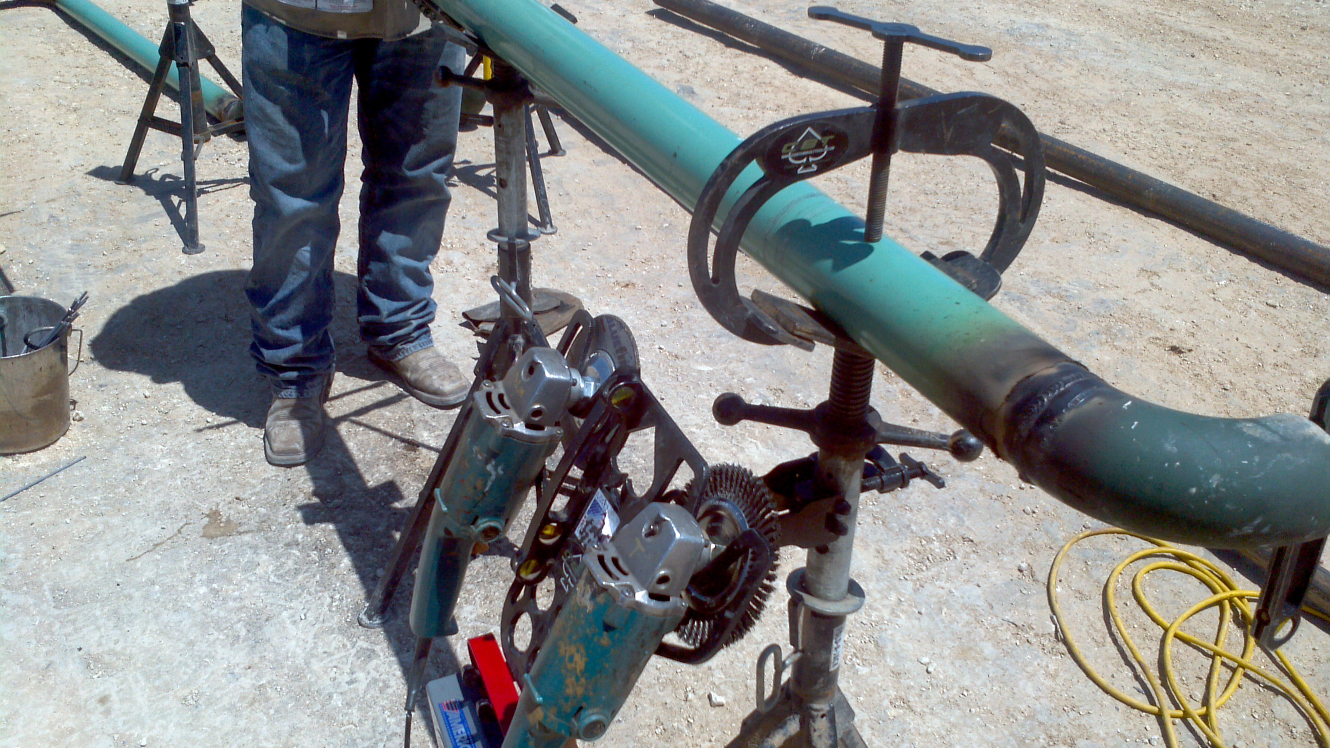 Pipe Jack Stands >> Jack Stand Holder Custom Built Welding Tools For Pipeline Welders